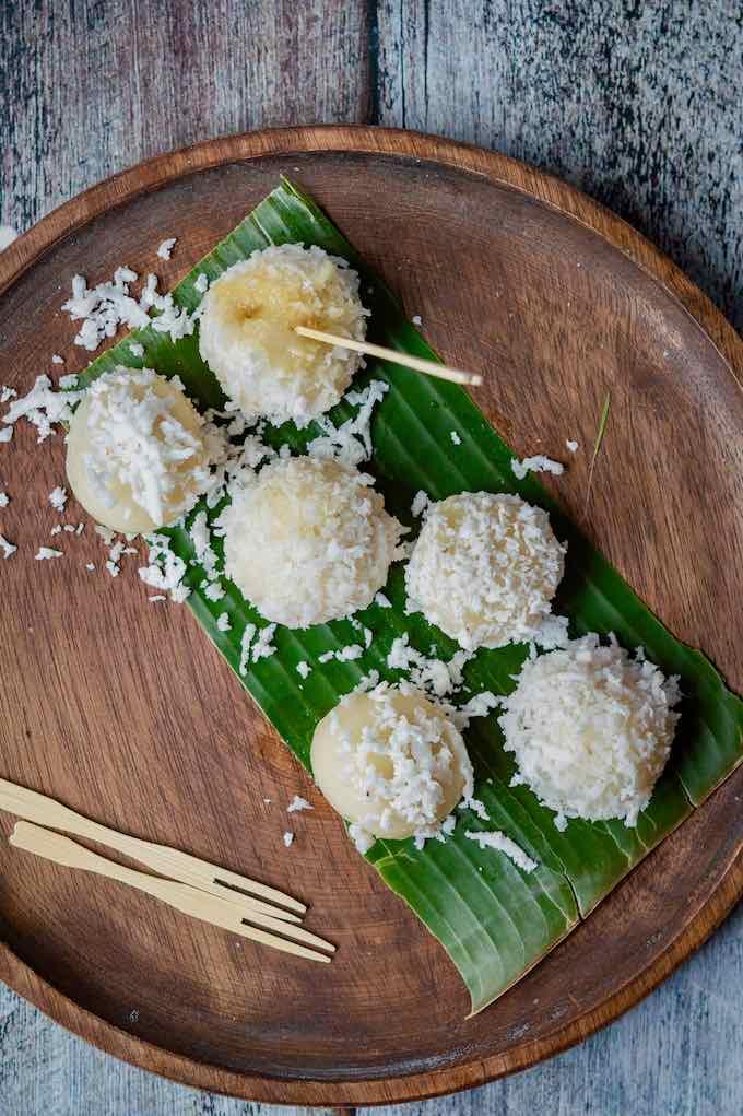 Cambodian rice balls
