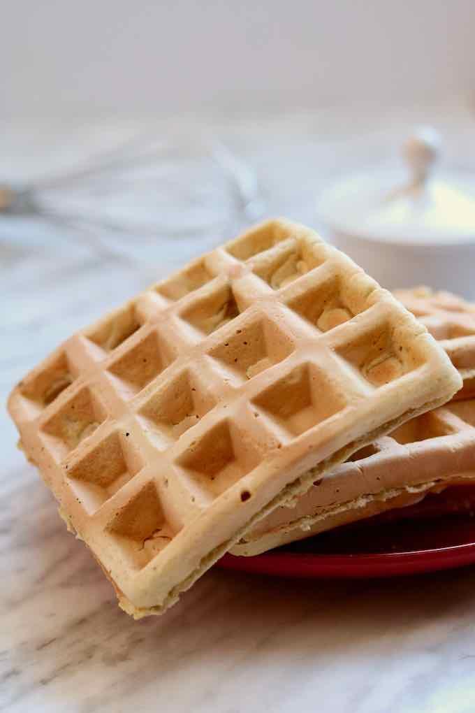 Cambodian waffle