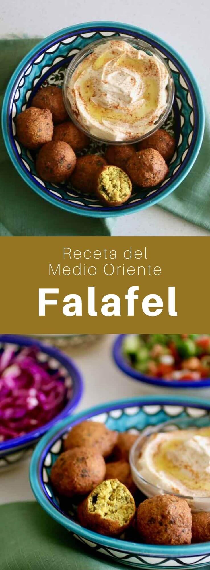 Aunque los falafels están hechos exclusivamente de garbanzos, los originales, los falafels de Egipto, se elaboran con habas.
