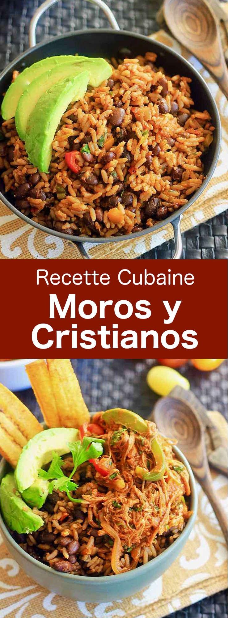 Le Moros y Cristianos (Maures et Chrétiens) est la version cubaine du riz et des haricots (rice and beans), un plat populaire dans les Caraïbes. #Cuba #CuisineCubaine #RecetteCubaine #RecetteDesCaraibes #WorldCuisine #196flavors