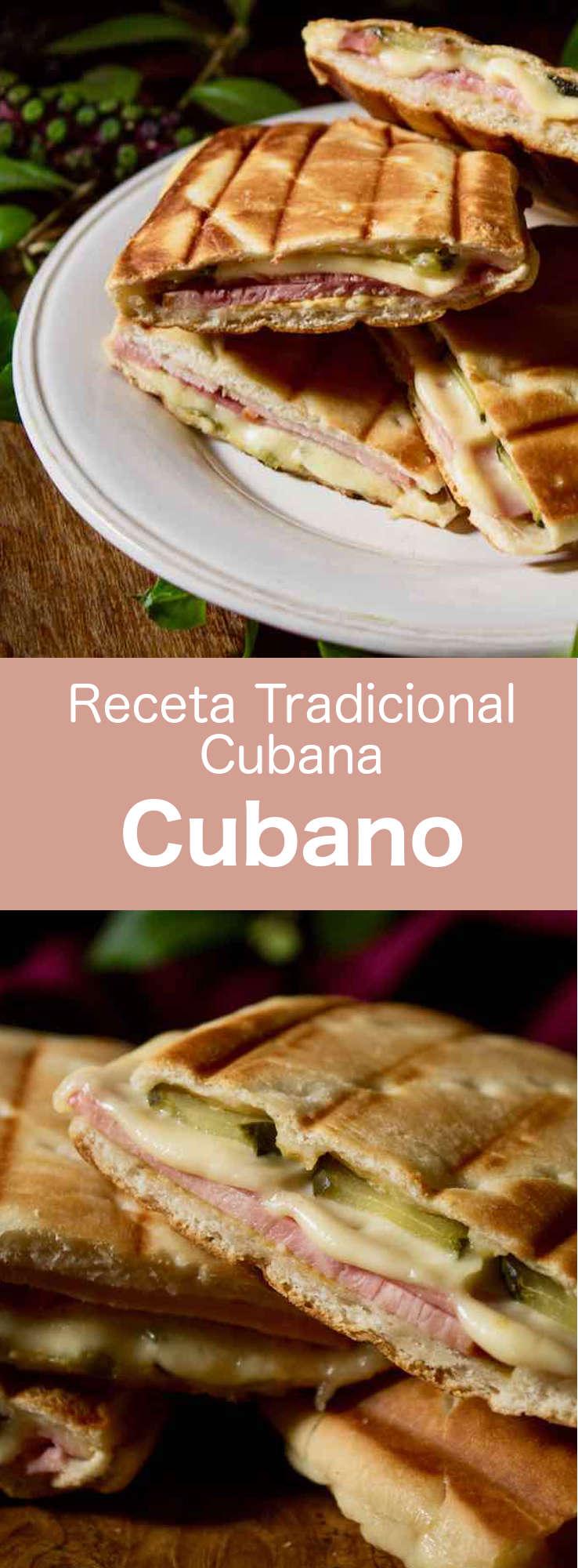 El sándwich cubano es un sándwich prensado con cerdo asado, jamón, pepinillos y queso, popularizado por los inmigrantes cubanos en Florida en el siglo XIX.
