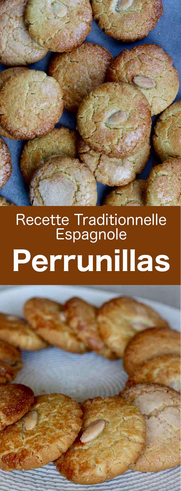 Les perrunillas sont les délicieux petits biscuits sablés traditionnels les plus emblématiques de la région d'Estrémadure en Espagne. #Espagne #CuisineEspagnole #RecetteEspagnole #CuisineDuMonde #196flavors