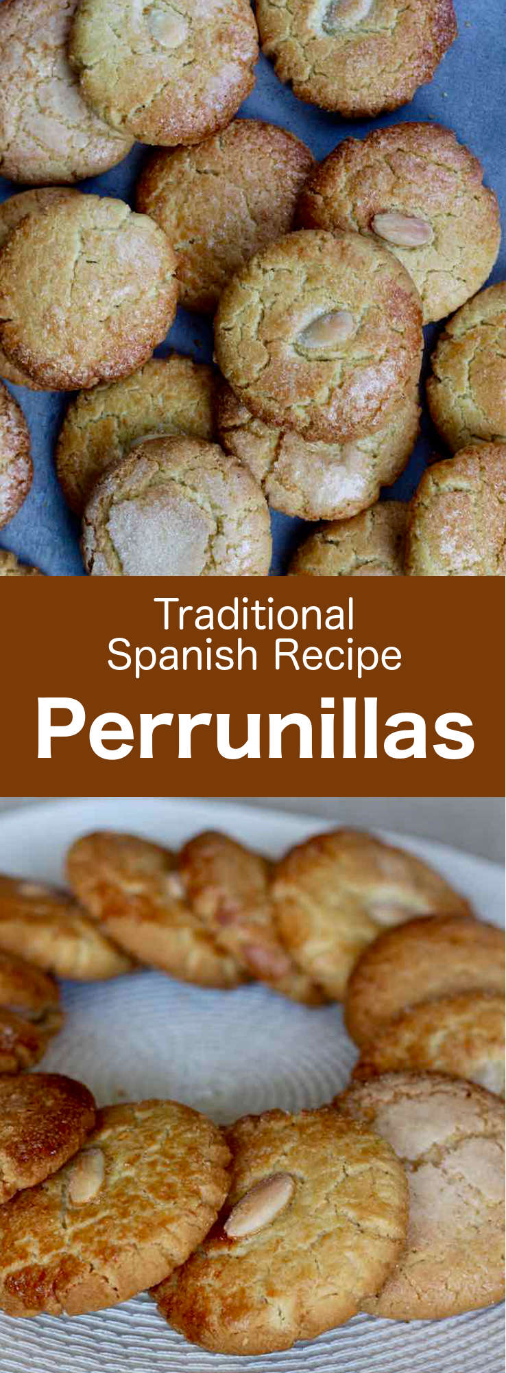 Perrunillas are the most popular shortbread biscuits from the region of Extremadura in Spain. They are also very popular in Castile-Leon and Andalusia. #SpanishCuisine #Spain #SpanishRecipe #SpanishFood #WorldCuisine #196flavors