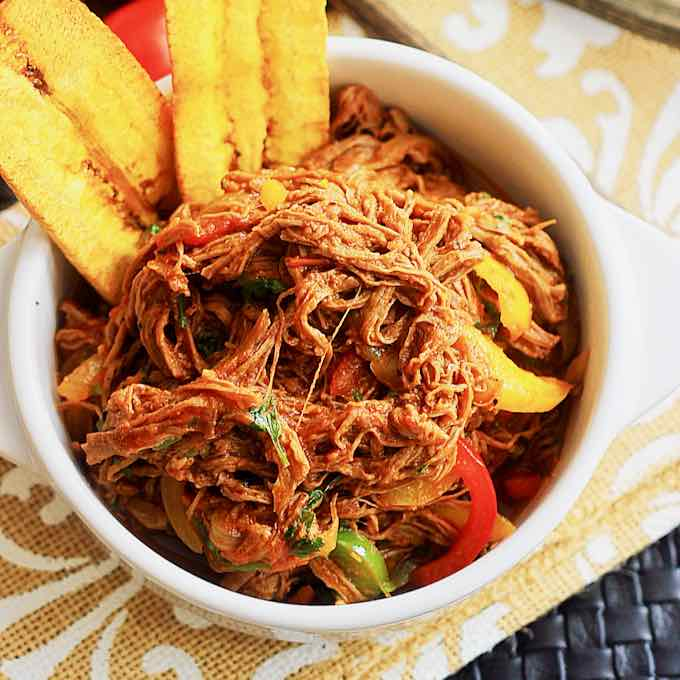 Ropa Vieja Traditional Recipe Of Cuba National Dish 196 Flavors