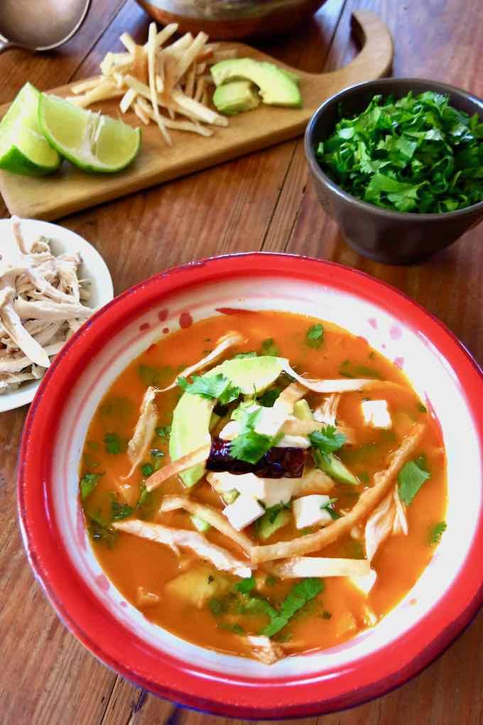 sopa mexicana