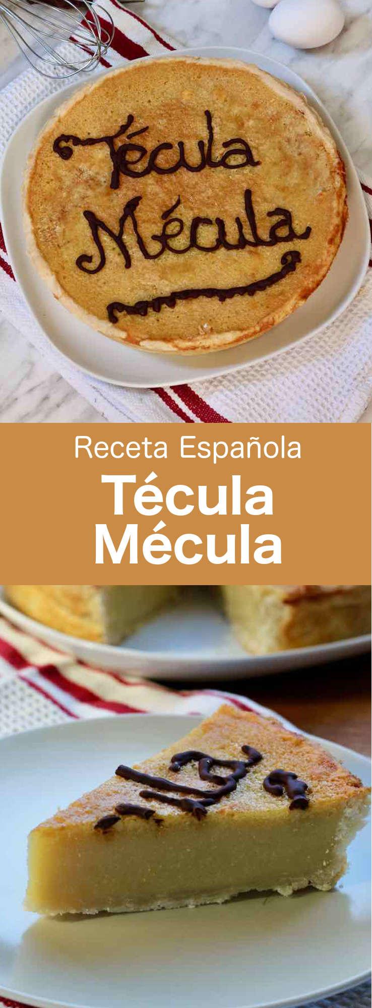 La Técula Mécula es un delicioso postre tradicional de la región de Extremadura, en el oeste de España, que se prepara con almendras y yemas de huevo.