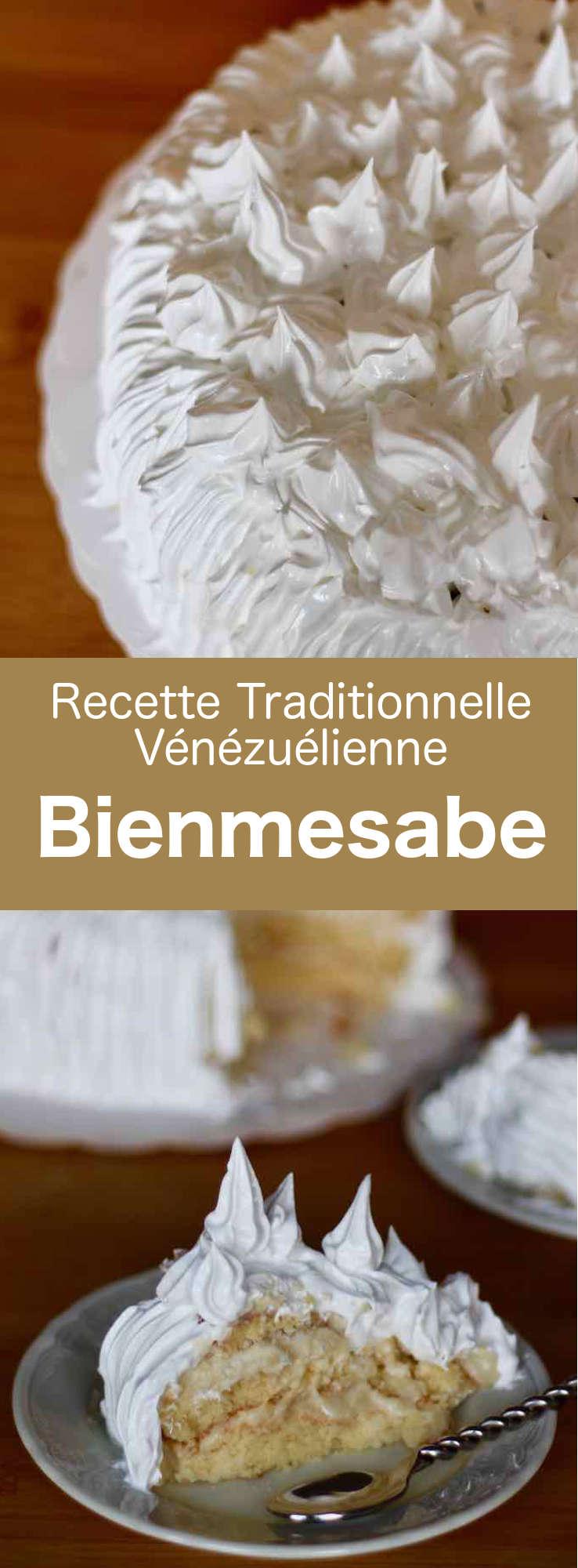 Le bienmesabe est un gâteau aérien traditionnel vénézuélien, d'origine espagnole, préparé à base de crème aux oeufs à la noix de coco et de Xérès. #Venezuela #CuisineVenezuelienne #AmeriqueLatine #CuisineLatine #CuisineDuMonde #196flavors