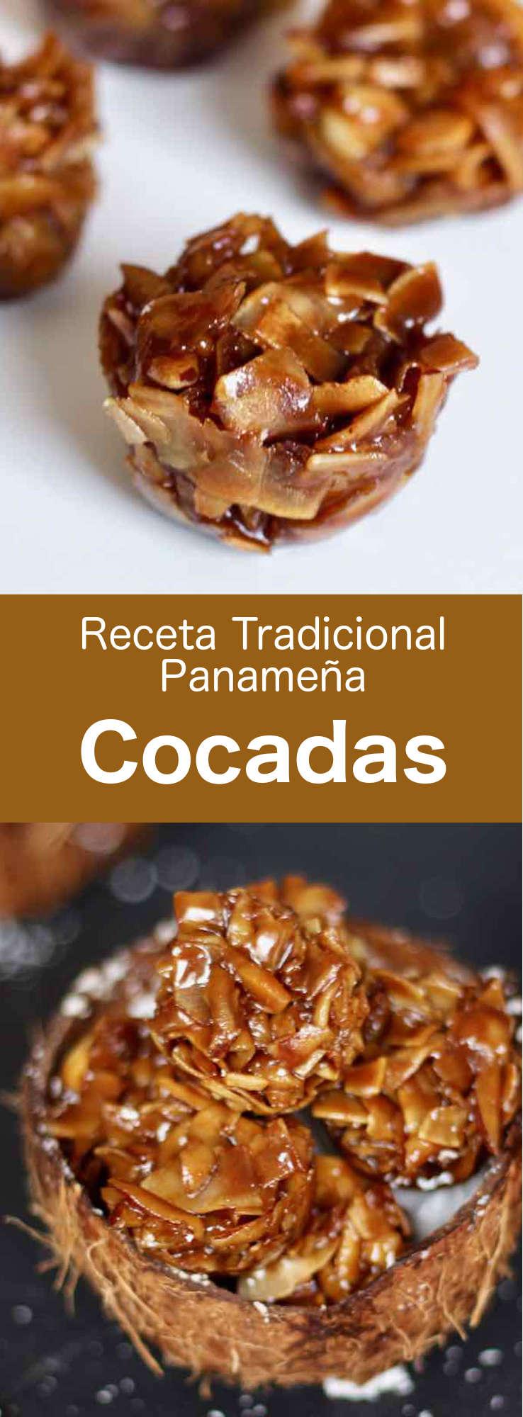 Las cocadas son pequeños dulces caramelizados hechos con coco fresco y panela, originarios de España y populares en toda América Latina. #Panama #RecetaPanameña #196flavors