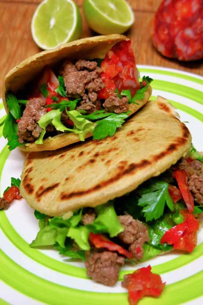 Mexican gordita