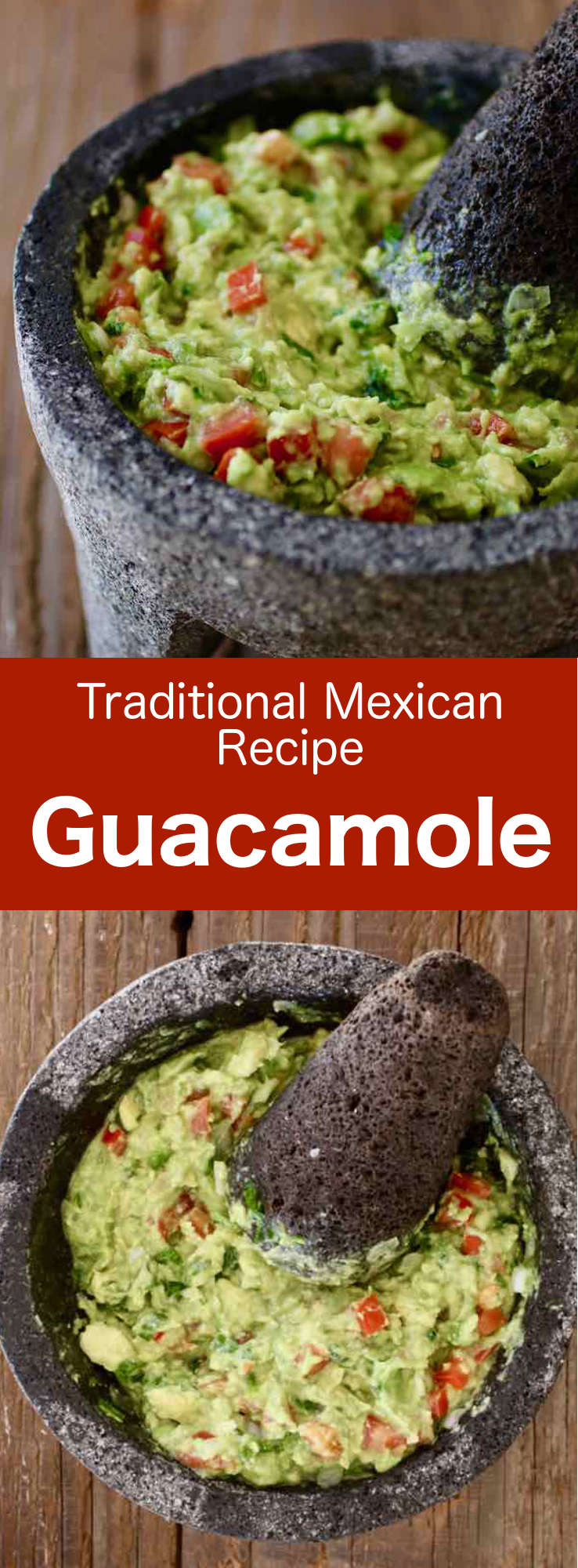 Guacamole is a delicious traditional Mexican dip prepared with ripe avocado, onion, chili pepper, cilantro, tomato, and lime. #Mexican #MexicanFood #MexicanCuisine #MexicanRecipe #WorldCuisine #196flavors