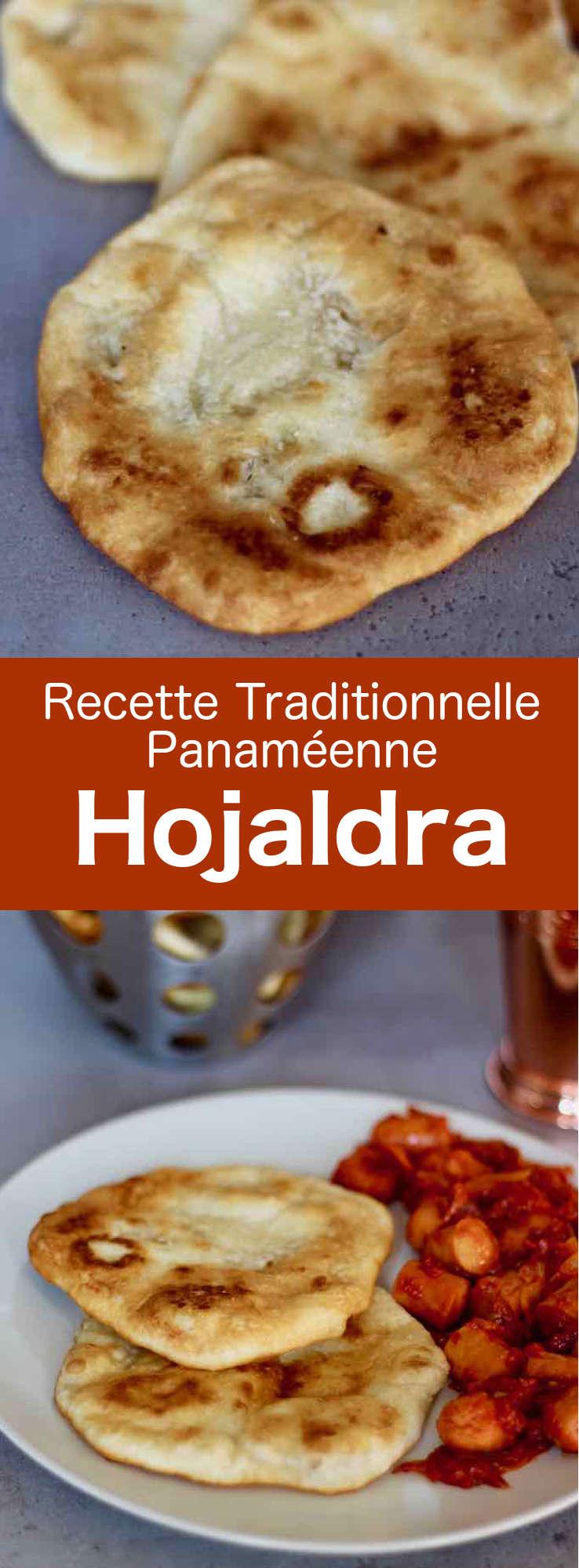 La hojaldra, appelée également hojaldre ou hojalda est un délicieux petit pain rond frit traditionnel panaméen que l'on retrouve également en Uruguay et en Colombie. #Panama #CuisinePanameenne #AmeriqueCentrale #CuisineDuMonde #196flavors