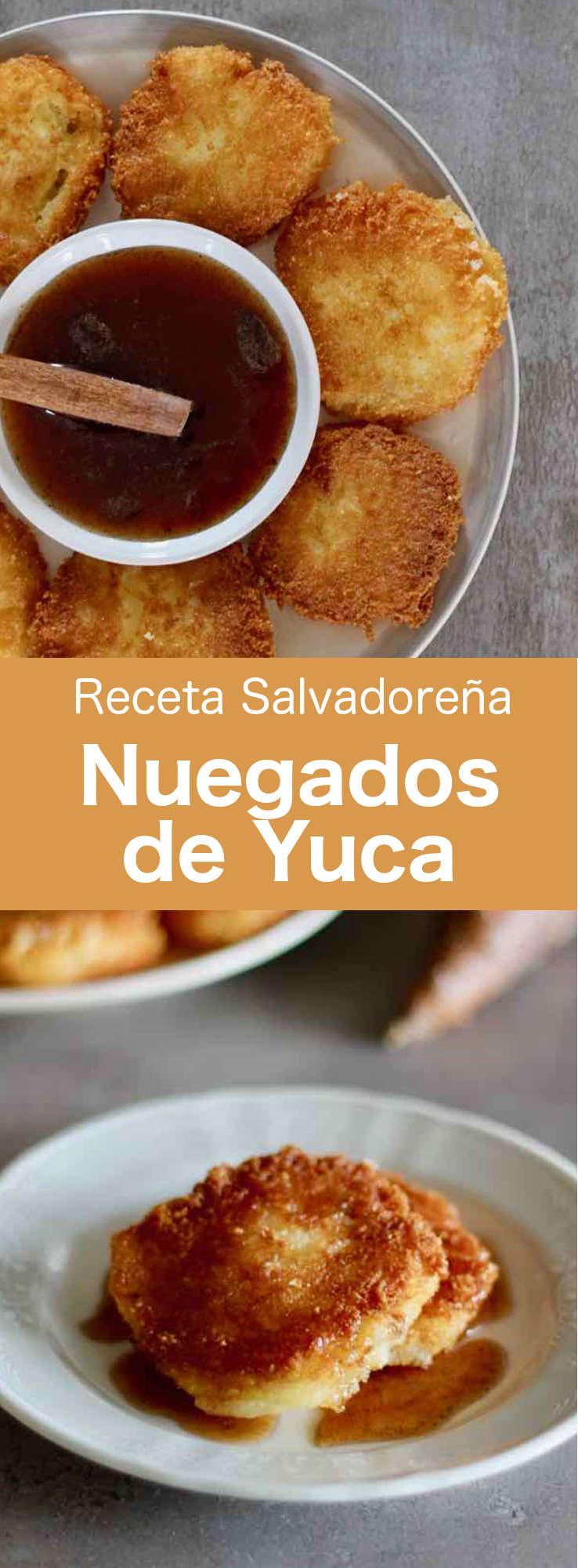 Los nuégados de yuca son deliciosos buñuelos de queso tradicionales de El Salvador que se preparan típicamente durante la Pascua.