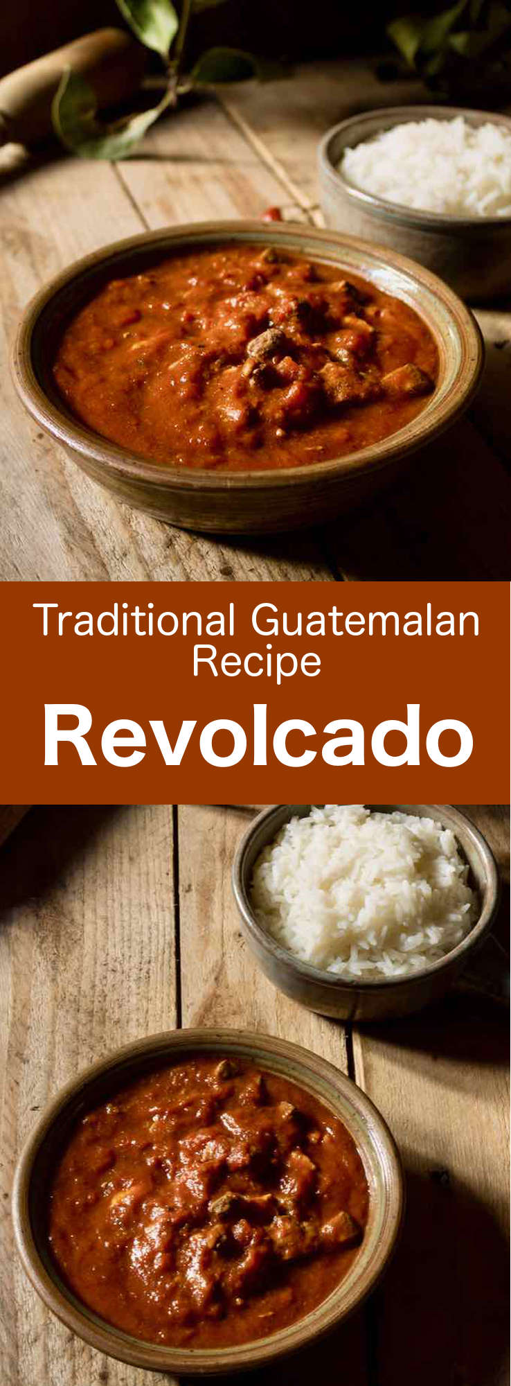 Revolcado is a delicious Guatemalan stew that is prepared with pig's head and offal, that are simmered in a spicy tomato sauce. #CentralAmericanCuisine #CentralAmericanRecipe #GuatemalanCuisine #GuatemalanRecipe #WorldCuisine #196flavors
