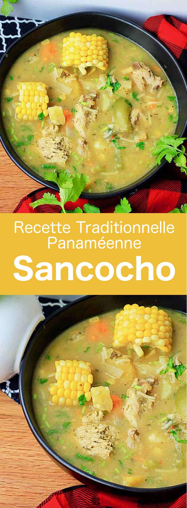 Le sancocho est une soupe traditionnelle dans plusieurs cuisines latino-américaines, composée de poulet ou de bœuf et de légumes-racines. #Panama #CuisinePanameenne #AmeriqueCentrale #CuisineDuMonde #196flavors