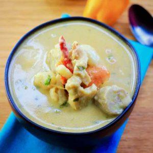sopa de caracol