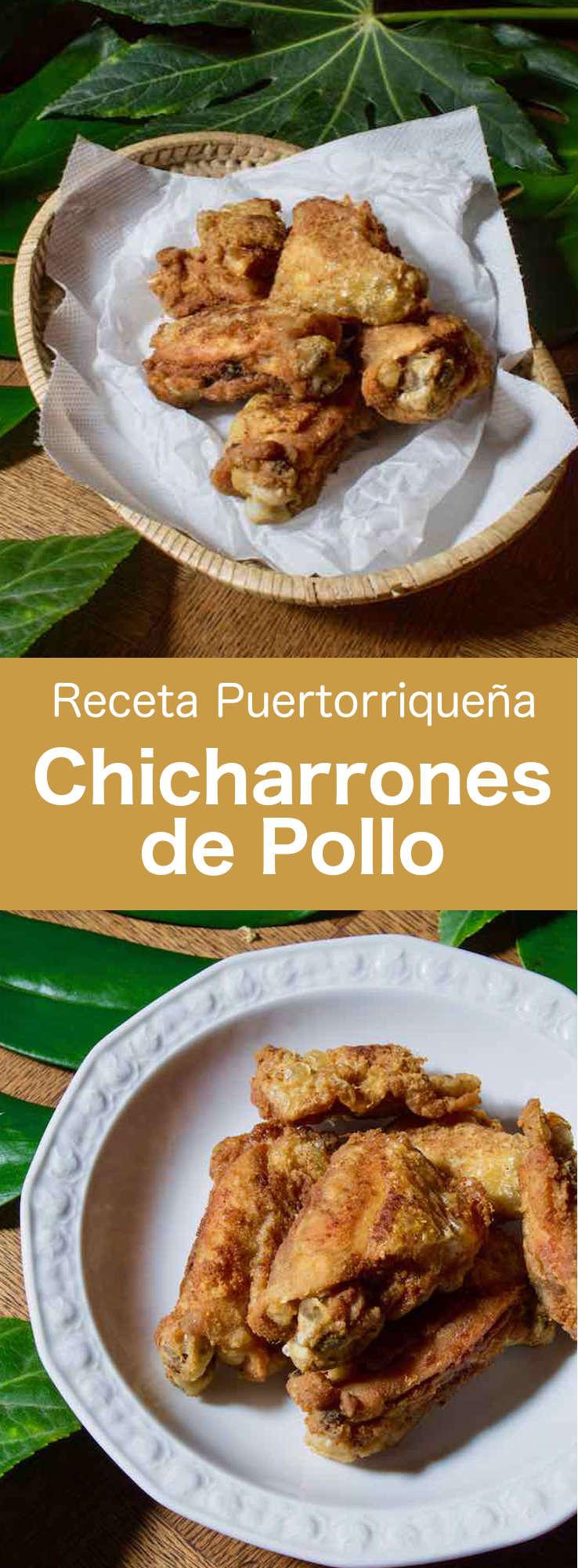 El chicharrón de pollo es una receta tradicional puertorriqueña, cubana y dominicana de pollo deliciosamente marinado, empanado y frito.