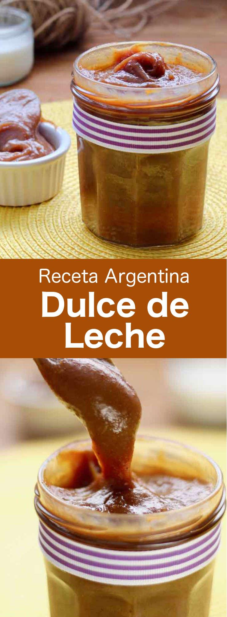El dulce de leche (o mermelada de leche), se elabora cocinando la leche y el azúcar a fuego lento. Es un ingrediente muy popular en Latinoamérica y España.