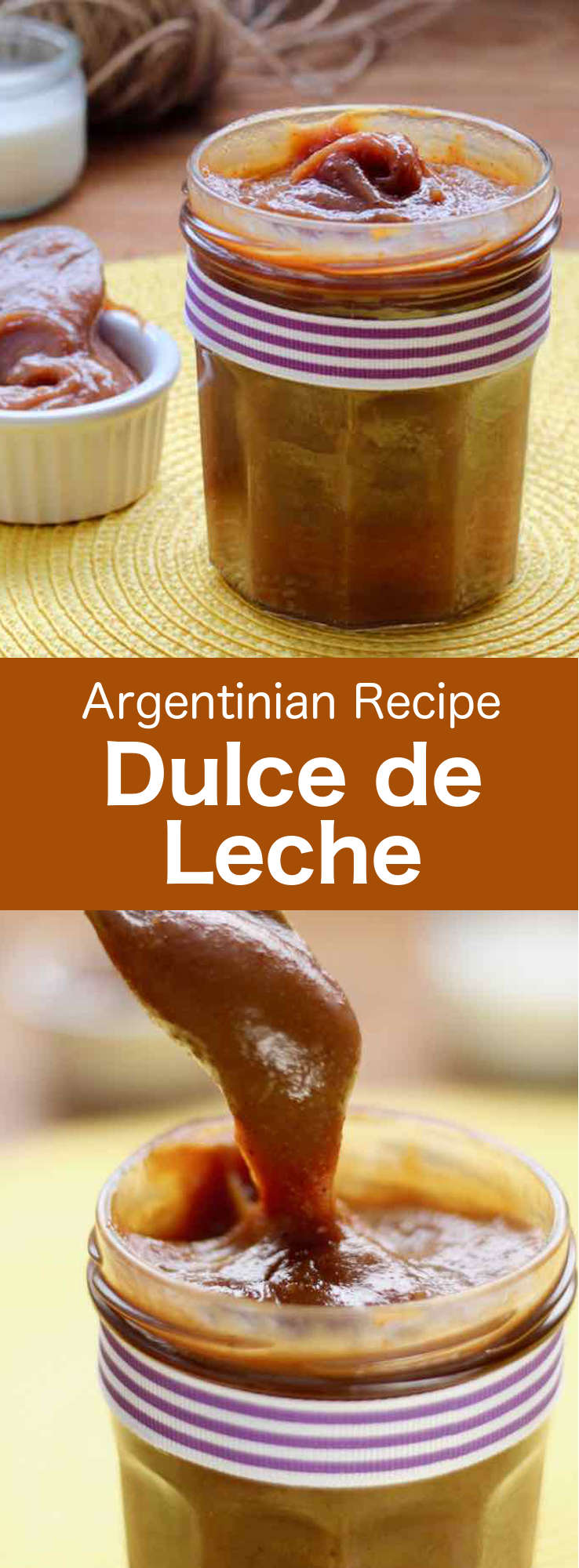Dulce de leche or milk jam, is produced by the simmering of milk and sugar. It is a very popular ingredient in Latin America and Spain. #Argentina #ArgentinianCuisine #ArgentinianRecipe #ArgentinianFood #WorldCuisine #196flavors