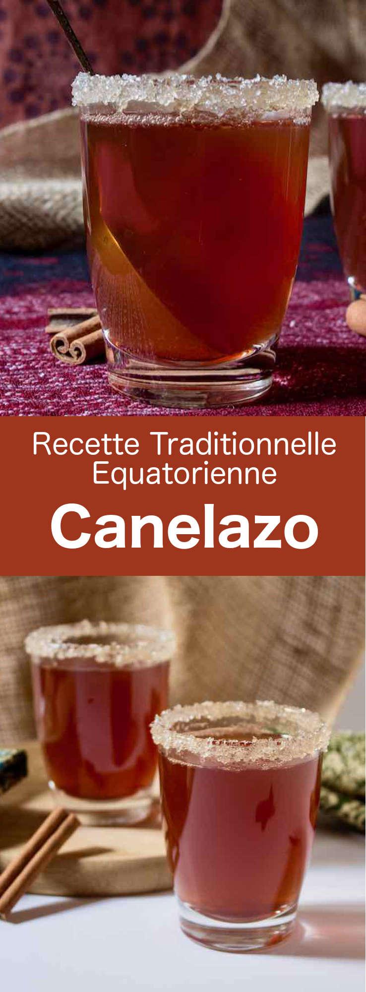 Le canelazo est une boisson chaude épicée alcoolisée à base d'Aguardiente, consommée dans les régions montagneuses d'Equateur, de Colombie et du nord de l'Argentine. #Equateur #RecetteEquatorienne #CuisineEquatorienne #AmeriqueLatine #CuisineDuMonde #196flavors