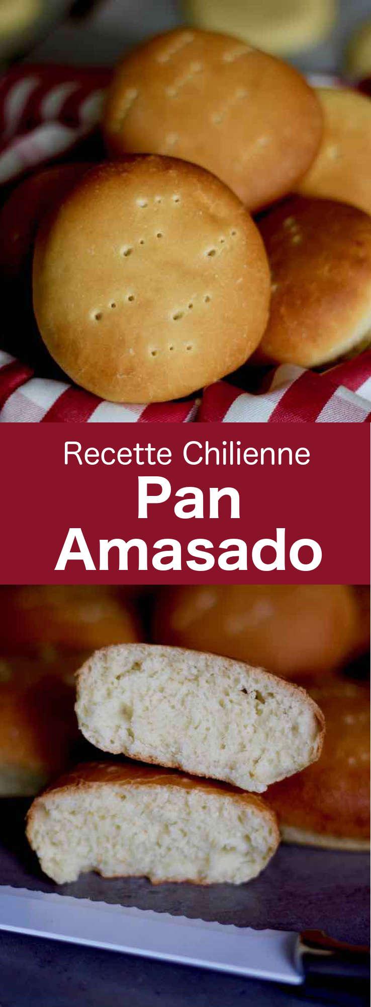 Le pan amasado est un pain rond et un peu plat, traditionnel du Chili, qui sert à déguster le pebre ou encore à faire de délicieux sandwiches. #Chili #RecetteChilienne #CuisineChilienne #CuisineDuMonde #196flavors