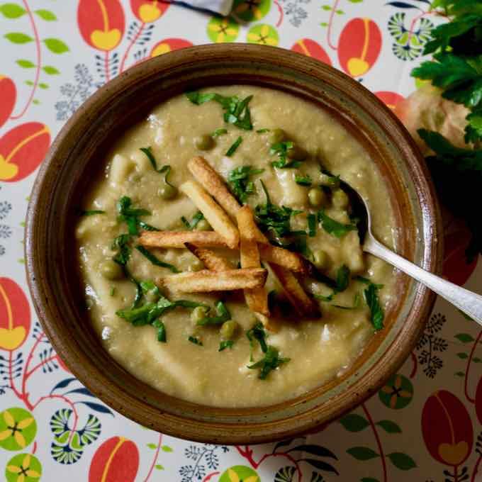 sopa de pollo y lima para la diabetes