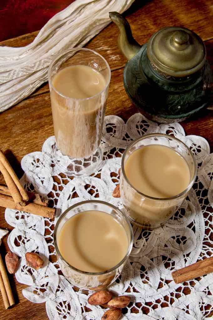 traditional horchata de morro