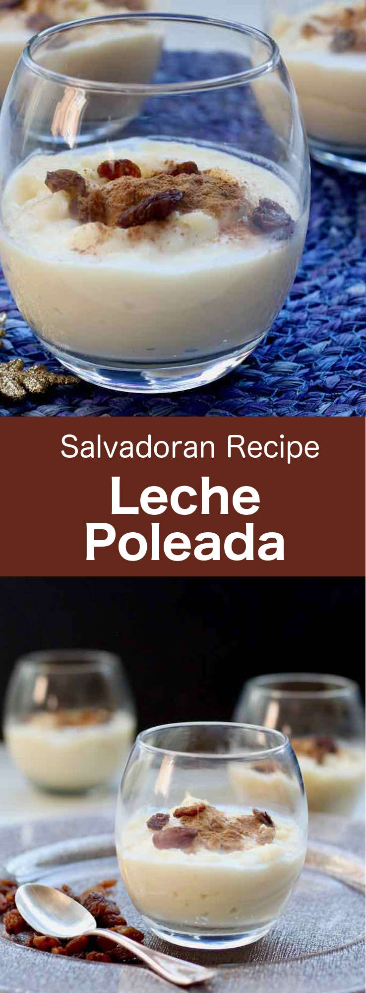 Leche poleada is a traditional dairy dessert from El Salvador flavored with cinnamon and vanilla that can also serve as a base for other recipes. #CentralAmericanCuisine #CentralAmericanRecipe #SalvadoranCuisine #SalvadoranRecipe #WorldCuisine #196flavors
