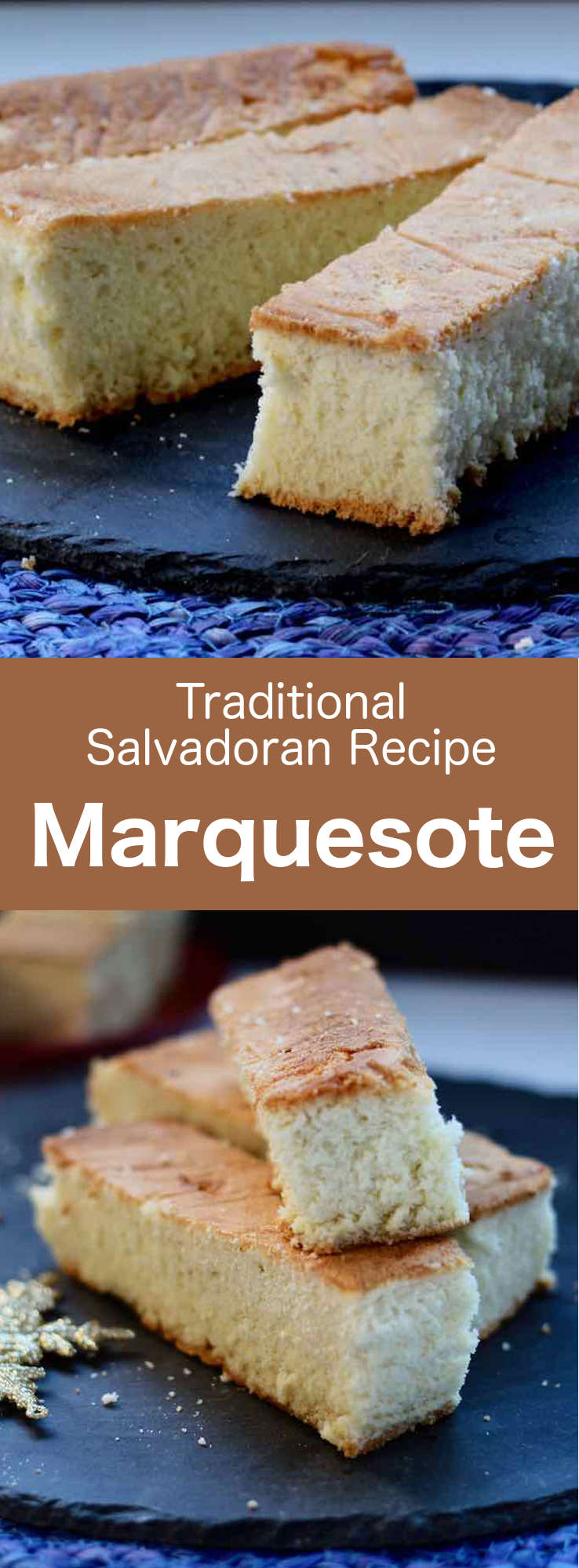 Marquesote is a delicious cake akin to a traditional Genoese sponge cake, typical of El Salvador, but also Mexico and Honduras. #CentralAmericanCuisine #CentralAmericanRecipe #SalvadoranCuisine #SalvadoranRecipe #WorldCuisine #196flavors