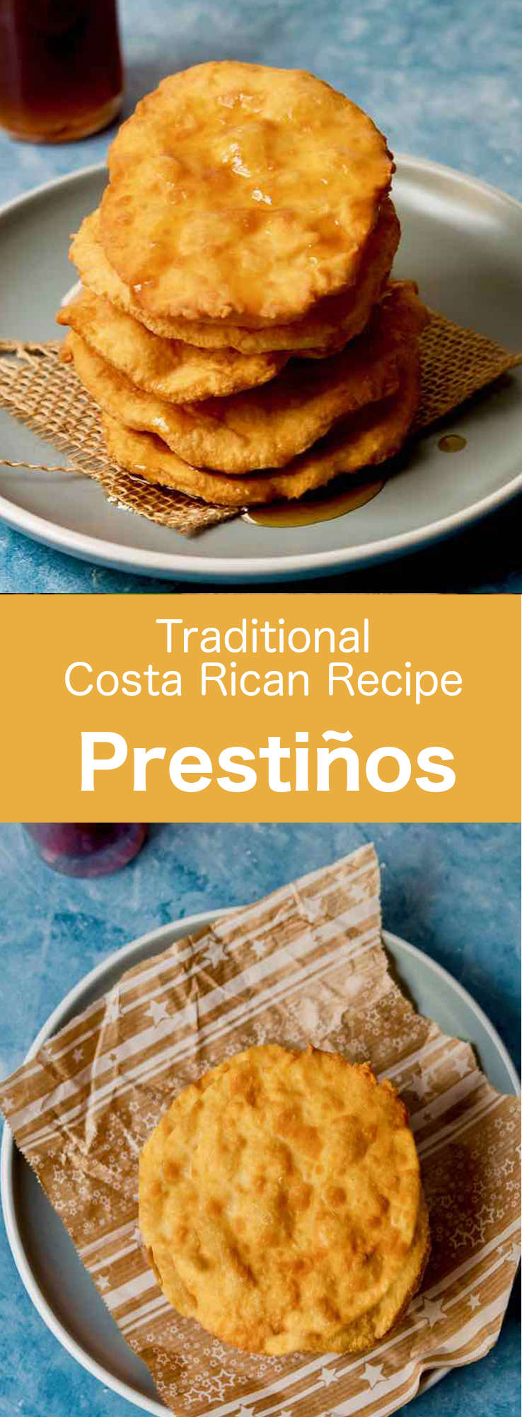 Pestiños are traditional Costa Rican confectioneries, consisting of a thin, fried dough and tapa de dulce (panela) syrup. #CostaRica #CostaRicanCuisine #CostaRicanFood #CostaRicanRecipe #WorldCuisine #196flavors