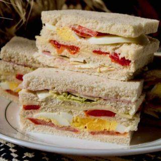 sandwich de miga