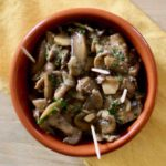 Spain: Setas al Ajillo (Mushrooms with Garlic)