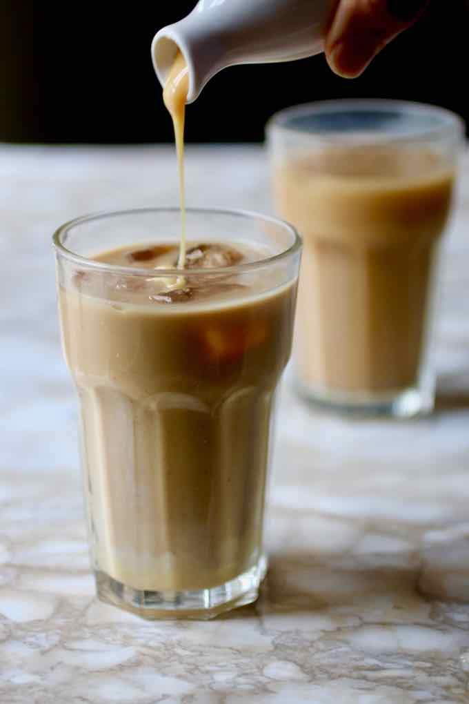 café vietnamien glacé
