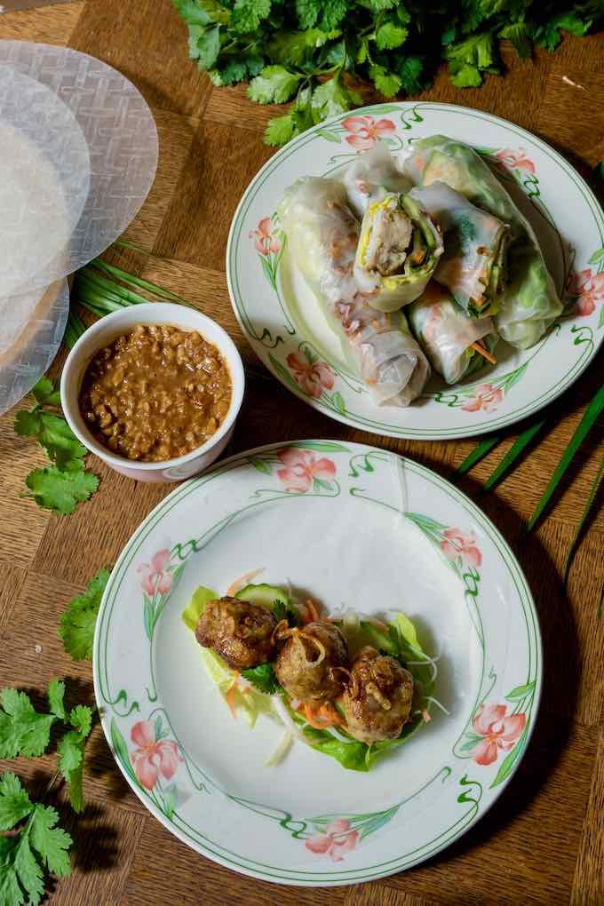 Vietnamese nem nuong