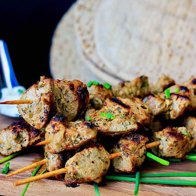 Souvlaki - Receta Griega Tradicional de Kebab | 196 flavors