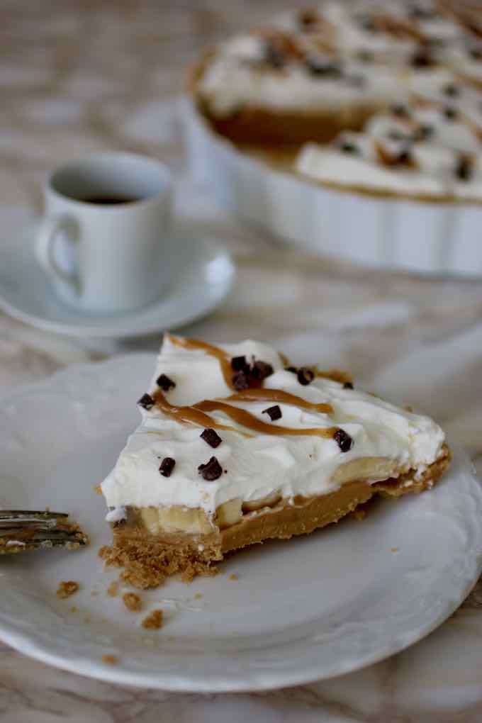 traditional banoffee pie