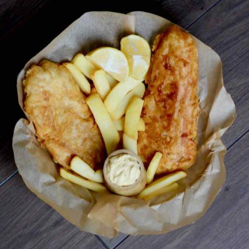 Fish And Chips Traditional English Recipe 196 Flavors