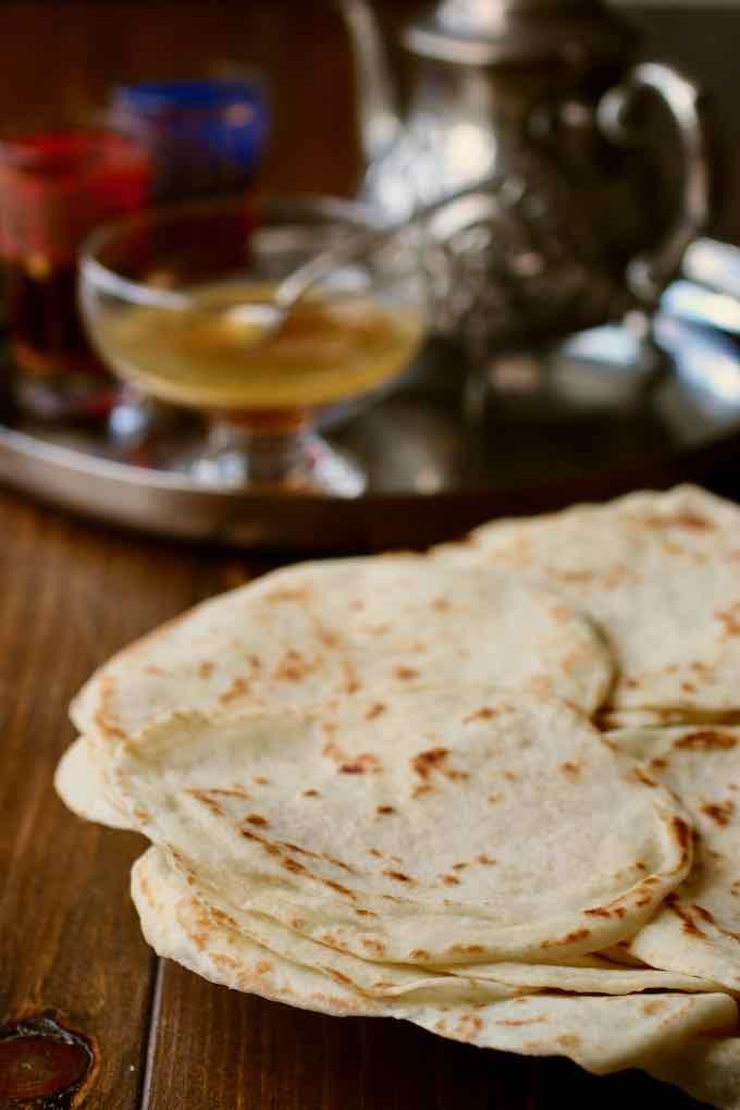 Moroccan moflettas