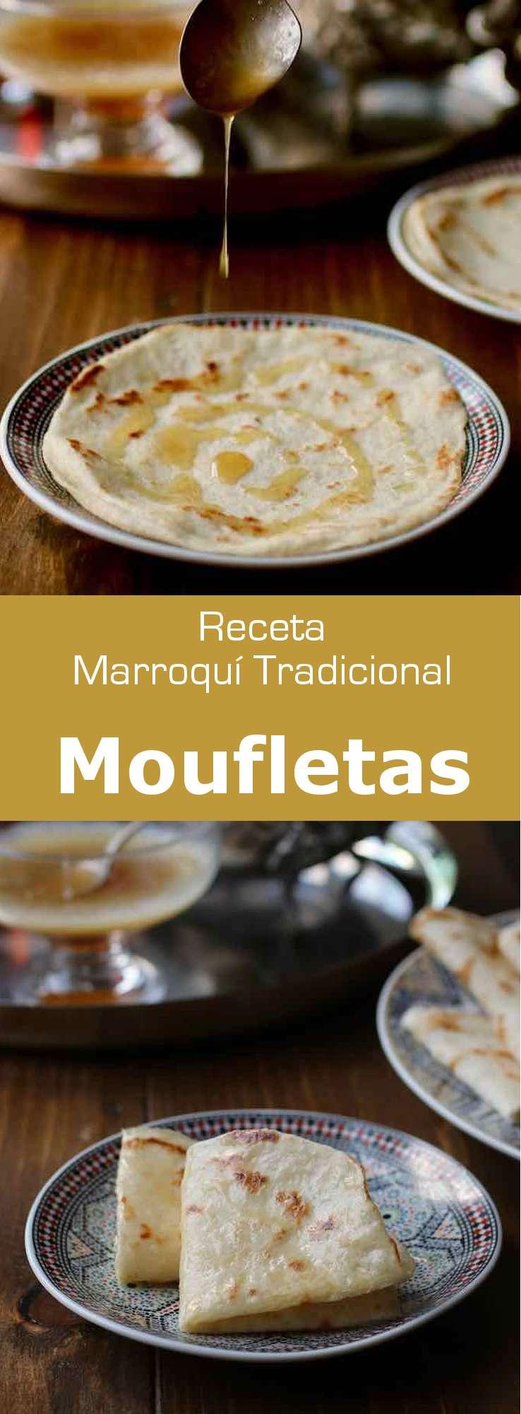 La mofletta es una crepe judía marroquí que se preparar tradicionalmente durante la celebración de la Mimouna, al final de la Pascua.