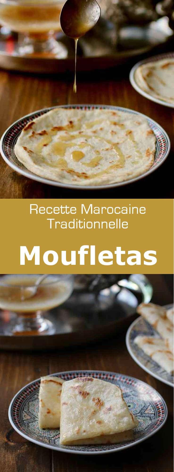 La mofletta est une crêpe juive marocaine traditionnellement consommée pendant la célébration de la Mimouna, à la fin de Pessah, la Pâque juive. #Maroc #RecetteMarocaine #RecetteJuive #RecetteDePessah #CuisineMarocaine #CuisineJuive #CuisineDuMonde #196flavors