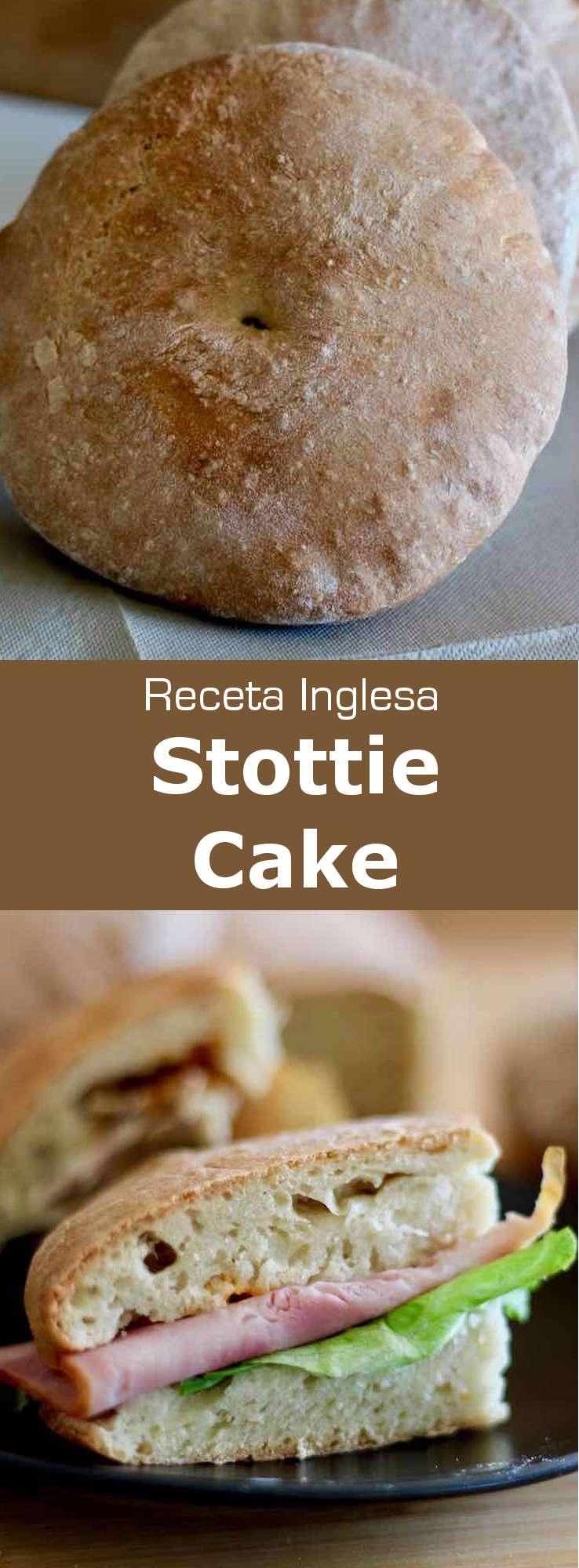 El stottie cake (stotty) es un pan plano originario de Newcastle, en el noreste de Inglaterra, donde es considerado un gran símbolo de su identidad.