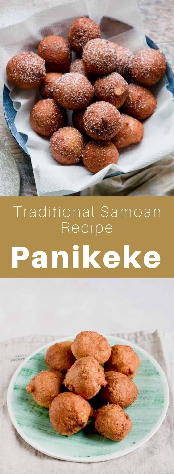 Panikeke, also called lapotopoto, keke isite, or tama is a delicious sweet, traditional donut from Samoa, Tonga and Palau. #Samoa #SamoanFood #SamoanCuisine #SamoanRecipe #Tonga #Palau #WorldCuisine #196flavors