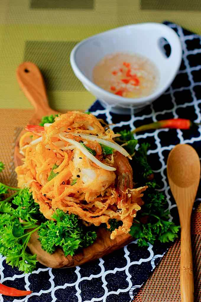 friture de crevette