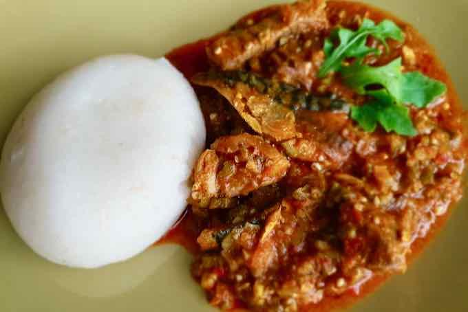 okra stew ghanéen