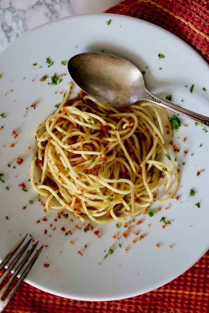 authentic spaghetti alla bottarga