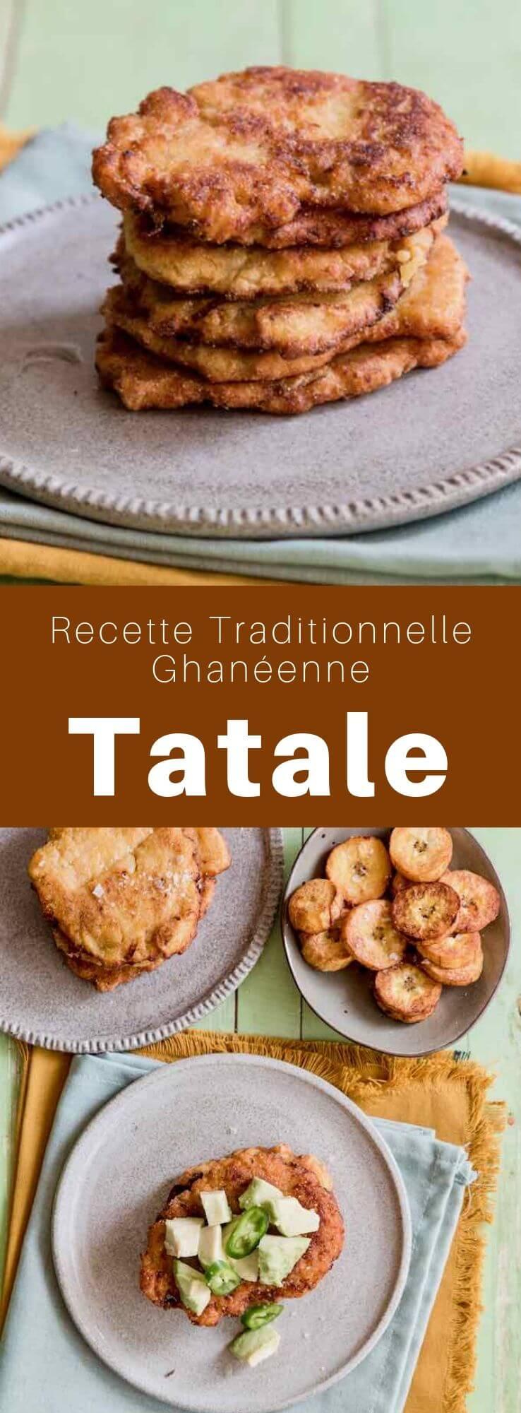 Les tatale, originaires du Ghana, sont des petites galettes de bananes plantain pimentées. Appelées également