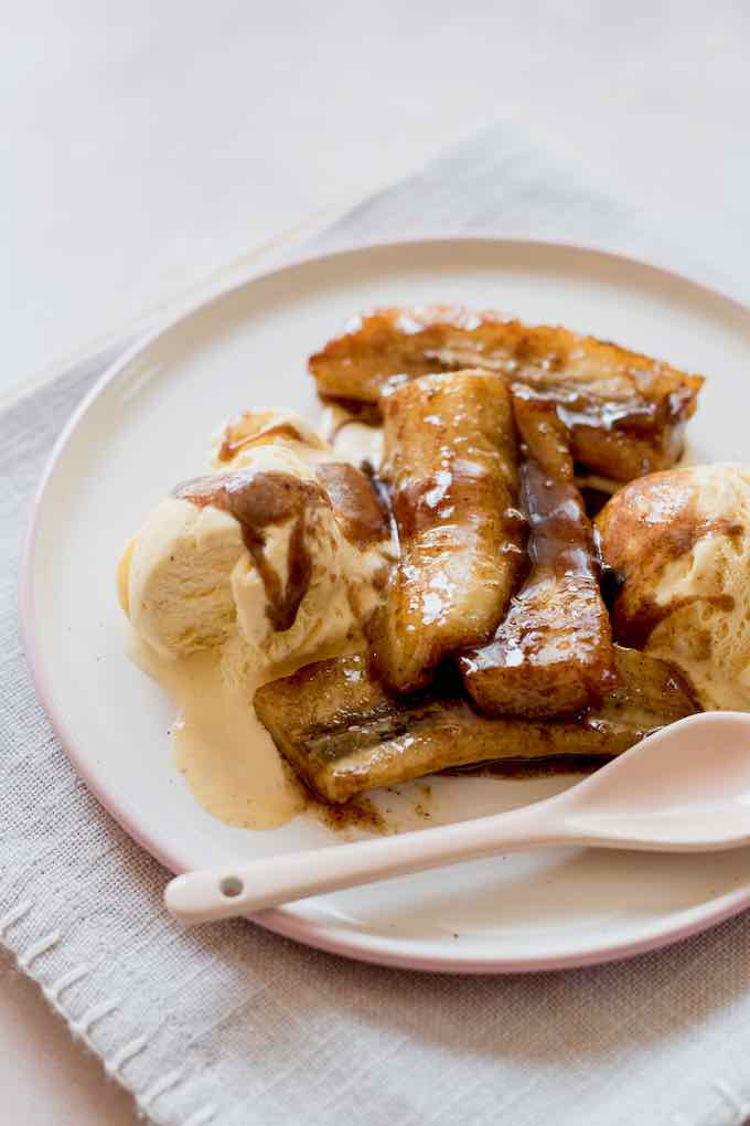 bananas Foster traditionnels