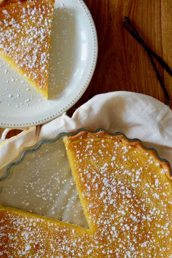 authentic chess pie