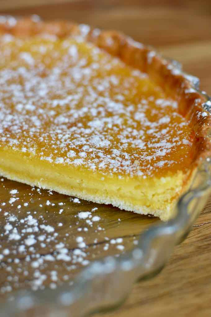 traditional chess pie