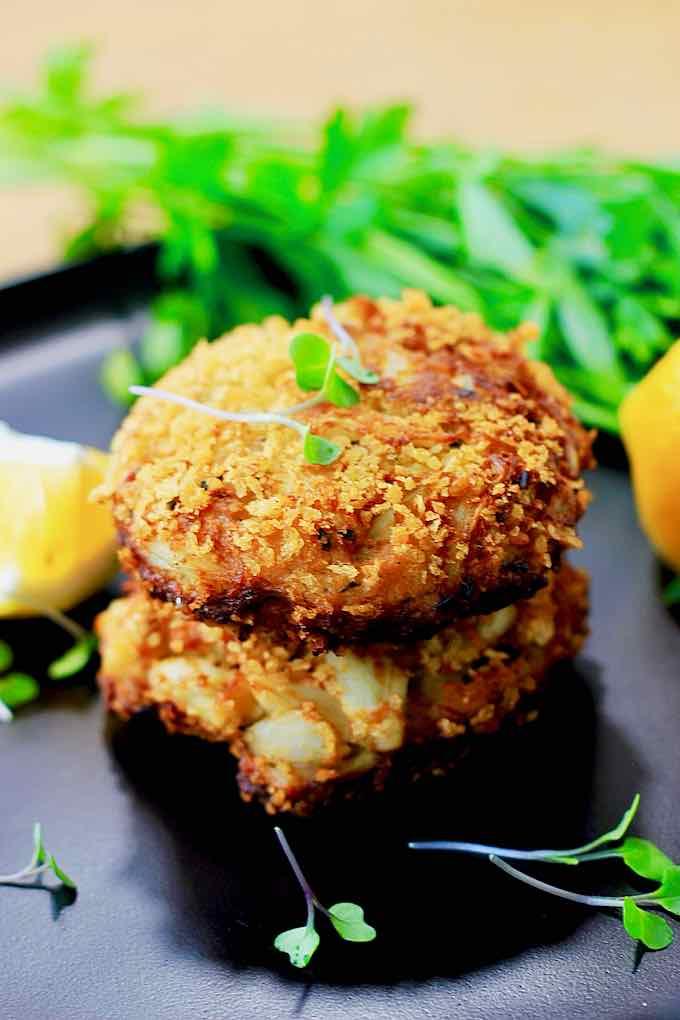 crab cake authentique