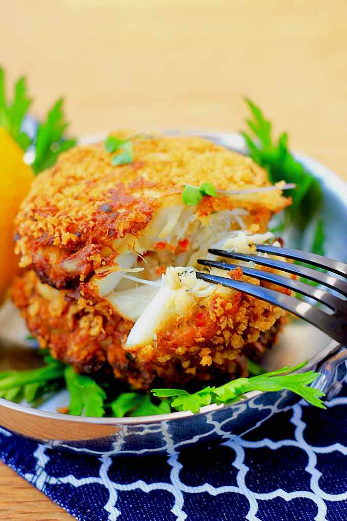 crab cake traditionnel